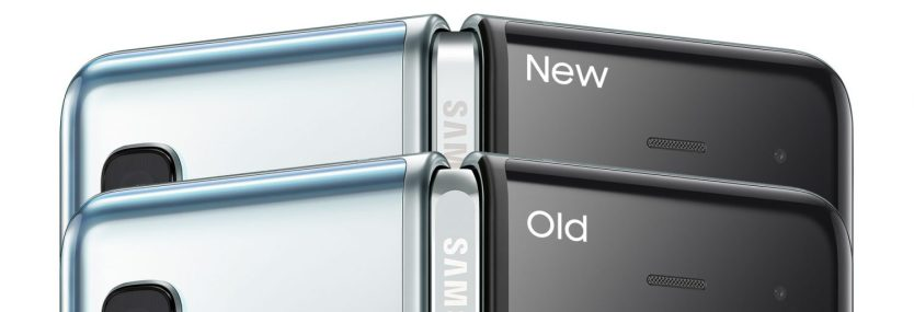 galaxy fold new vs old comparison hinge fixes 1