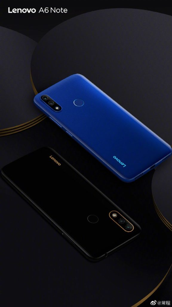 Lenovo A6 Note Blue and Black