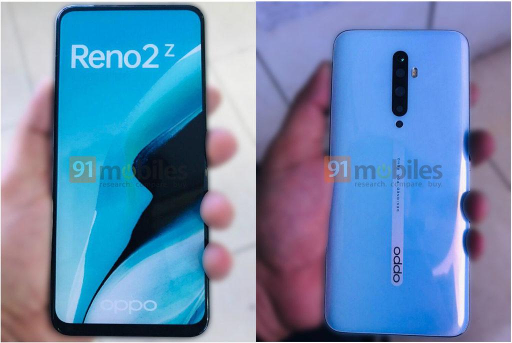 OPPO Reno 2Z design leak live image 1