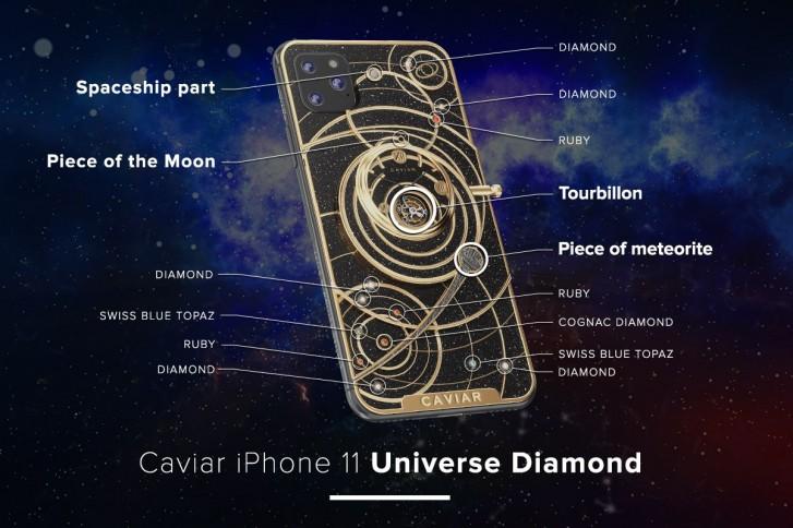 diamond carved iphone 11