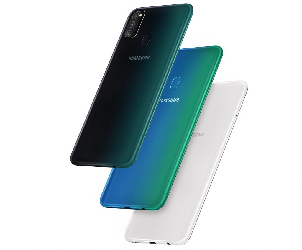Samsung Galaxy M30s colors 1024x847