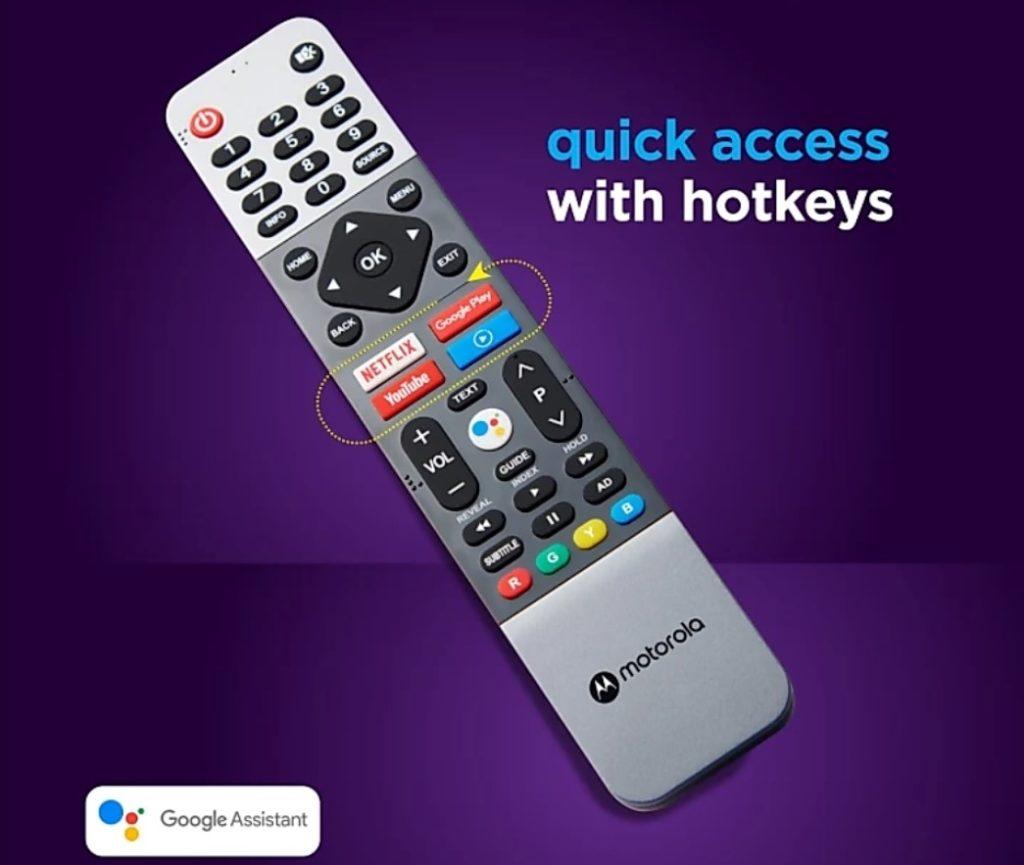 Motorola TV Remote