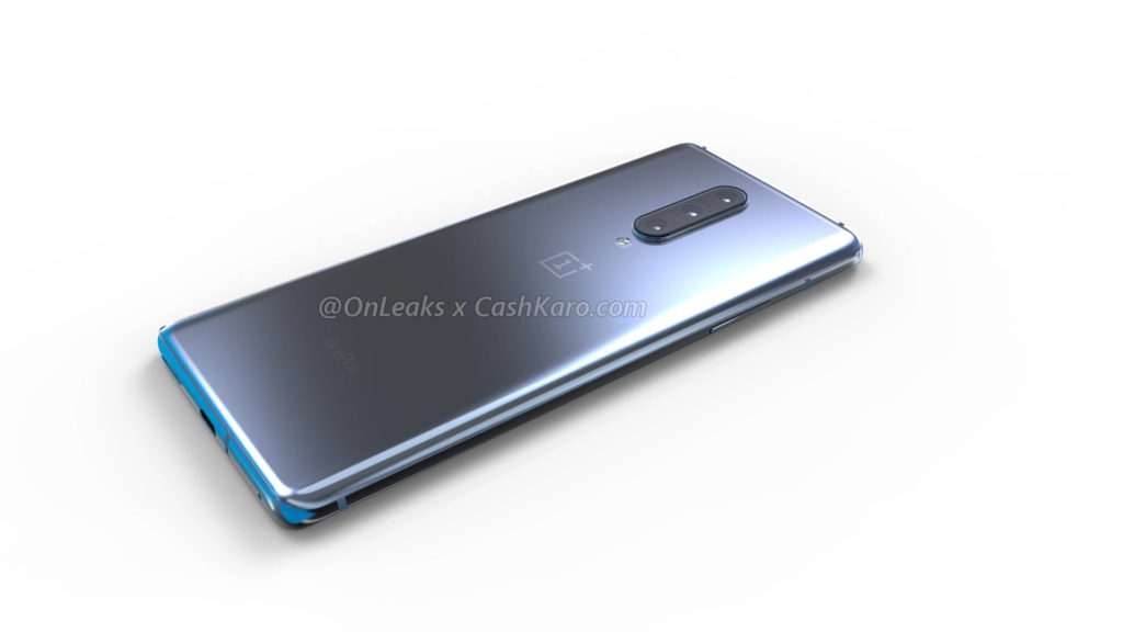 ONEPLUS 8 back right view