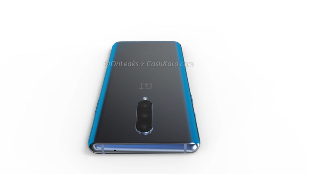 ONEPLUS 8 back top