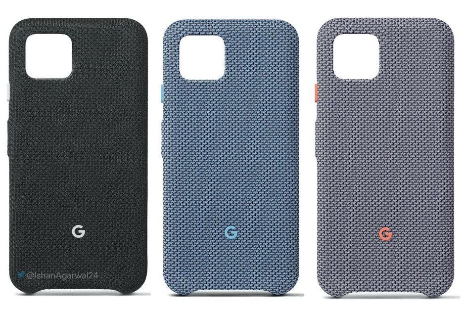 Take a look at the official Google Pixel 4 Fabric Cases