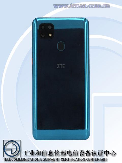 ZTE Blade A20 TENAA rear