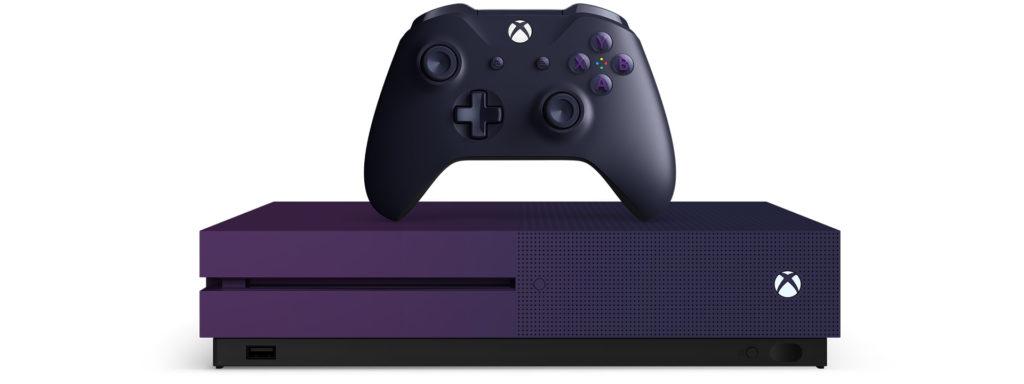 purple xbox one s bundle