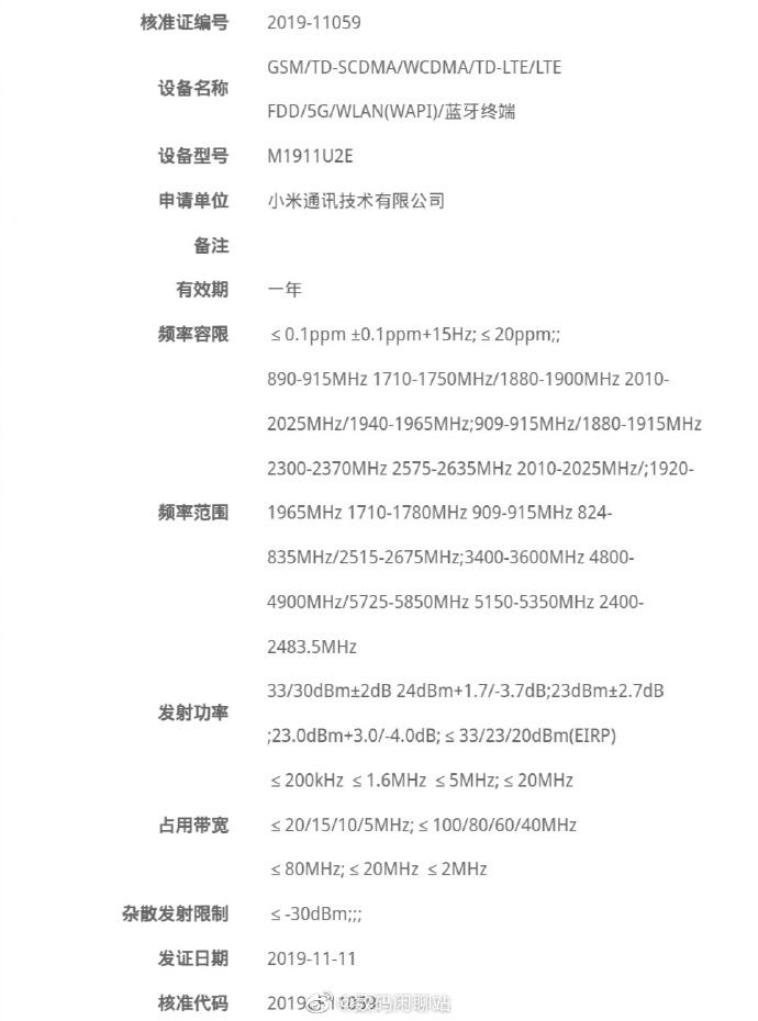 Σύντομα θα εμφανιστεί εμπορικά το νέο Redmi K30 1