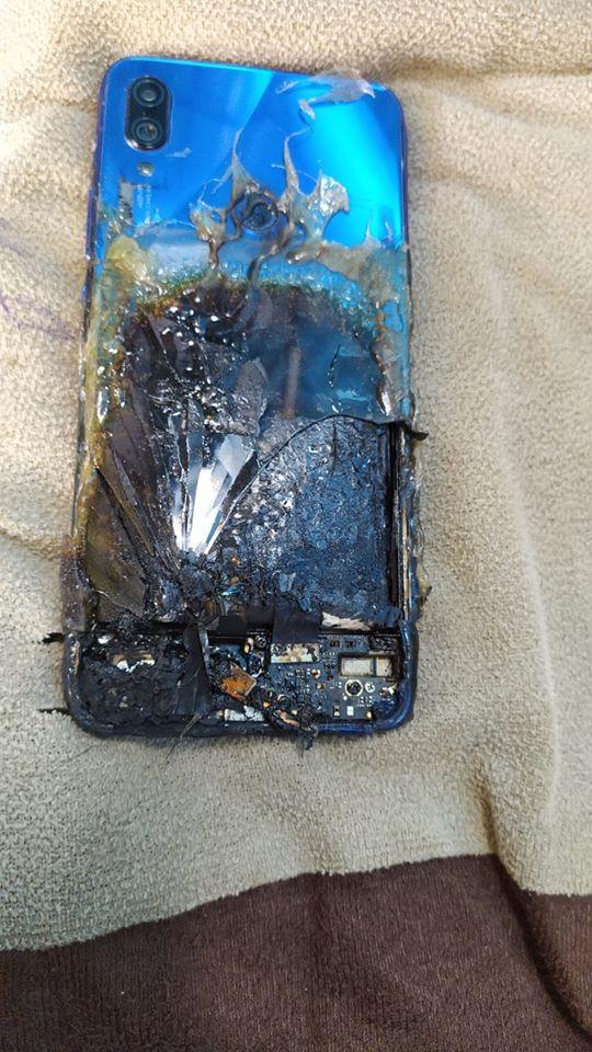 Τυλίχτηκε στις φλόγες μια μονάδα Redmi Note 7S, αλλά η Xiaomi  υποστηρίζει πως δεν φέρει καμία ευθύνη 3