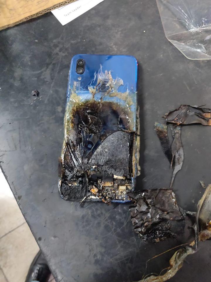 Τυλίχτηκε στις φλόγες μια μονάδα Redmi Note 7S, αλλά η Xiaomi  υποστηρίζει πως δεν φέρει καμία ευθύνη 4