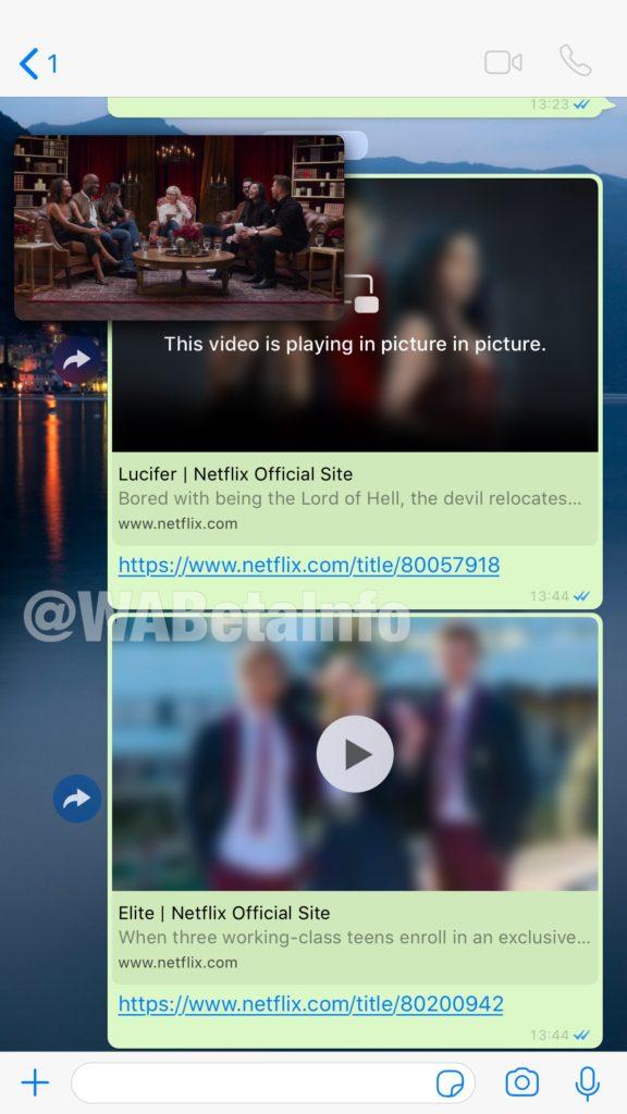 Απευθείας αναπαραγωγή trailers του Netflix από την εφαρμογή του WHATSAPP 1