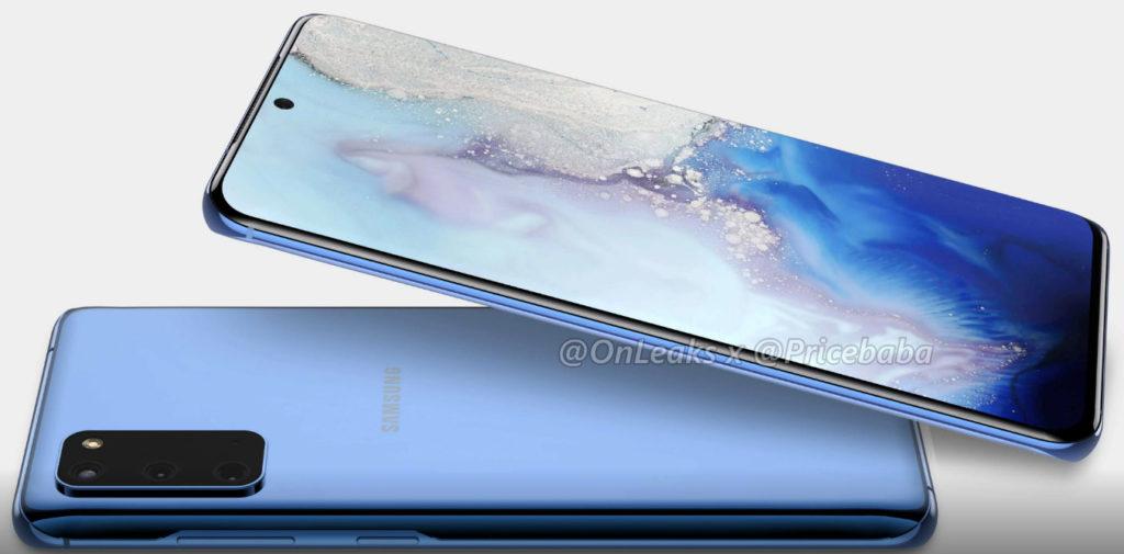 Ίδιο σχεδιαστικά το Samsung Galaxy S11e με το κανονικό S11, όμως με τρεις κάμερες στην πλάτη 1
