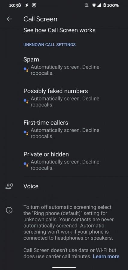 Το teardown του Google Dialer 4.2 Beta υποδηλώνει το αυτόματο robocall screening 1