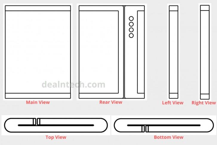 Το τελευταίο δίπλωμα ευρεσιτεχνίας της Xiaomi δείχνει ένα πτυσσόμενο τηλέφωνο με τετραπλές κάμερες 2