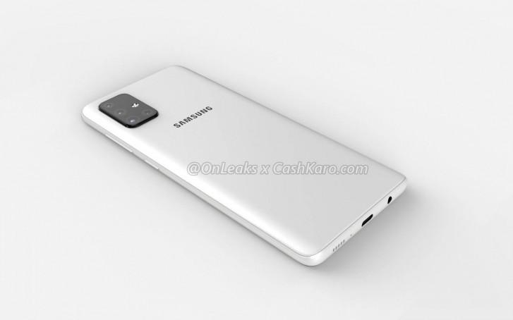 Τετραπλή κάμερα σε σχήμα L και οθόνη AMOLED Infinity-O για το Samsung Galaxy A71 1
