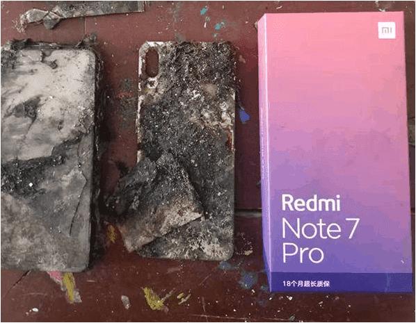 Νέο φλεγόμενο περιστατικό στην Κίνα με μια μονάδα Xiaomi Redmi Note 7 Pro 1