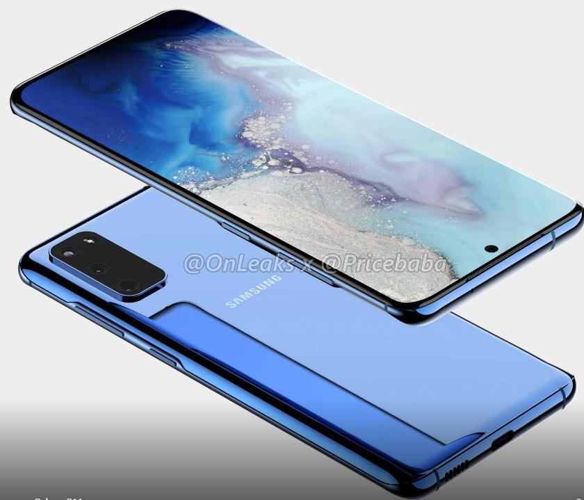 Ίδιο σχεδιαστικά το Samsung Galaxy S11e με το κανονικό S11, όμως με τρεις κάμερες στην πλάτη 2