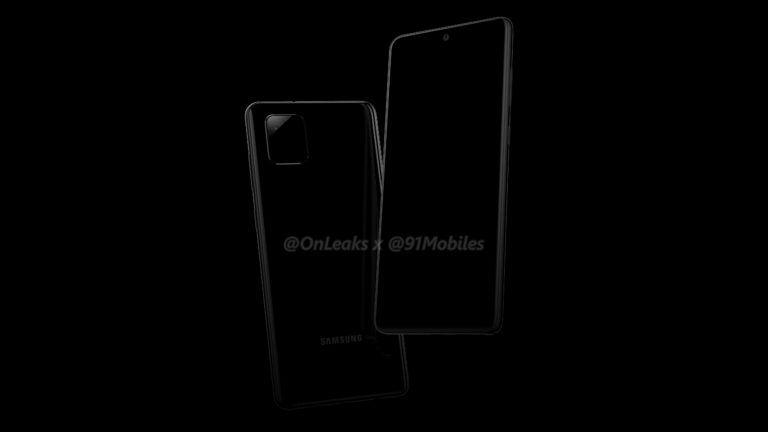 Κοιτάξτε την εξωτερική εμφάνιση του Samsung Galaxy Note 10 Lite με S-Pen και υποδοχή για ακουστικά 1