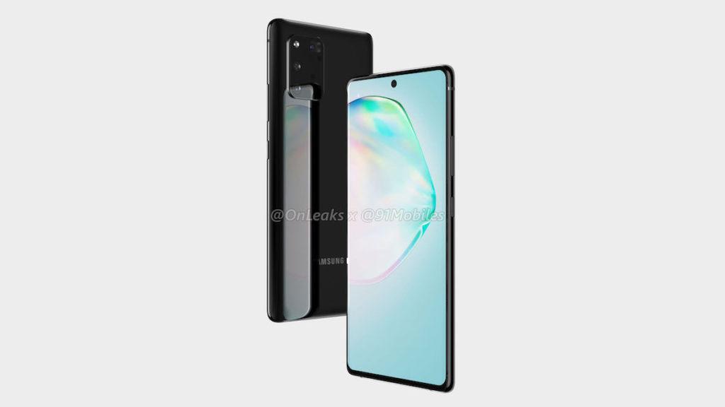 Μοιάζει πολύ το νέο Samsung Galaxy A91 με το Galaxy Note 10 και με το επερχόμενο Galaxy S11 2