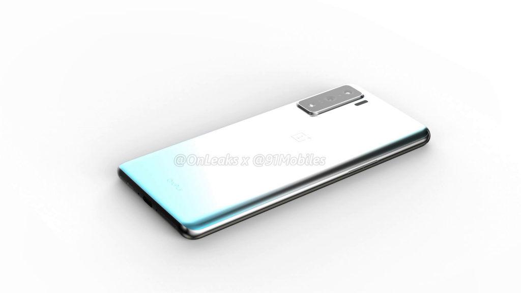 Ορθογώνια μονάδα κάμερας στην πλάτη και οθόνη με οπή για το επερχόμενο OnePlus 8 3