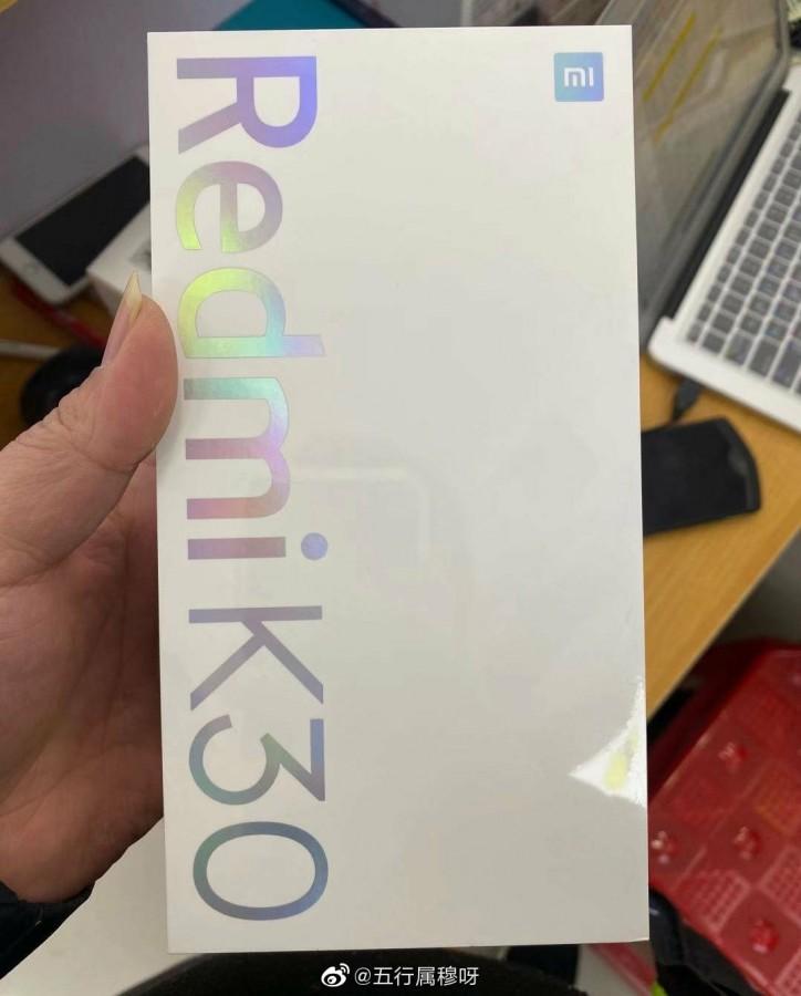 Live εικόνες από το κουτί του Redmi K30 1