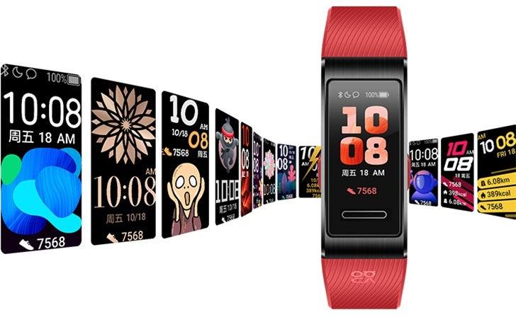 Εξοπλισμένο με AMOLED οθόνη και τιμή στα 57 δολ. το νέο Huawei Band 4 Pro 1