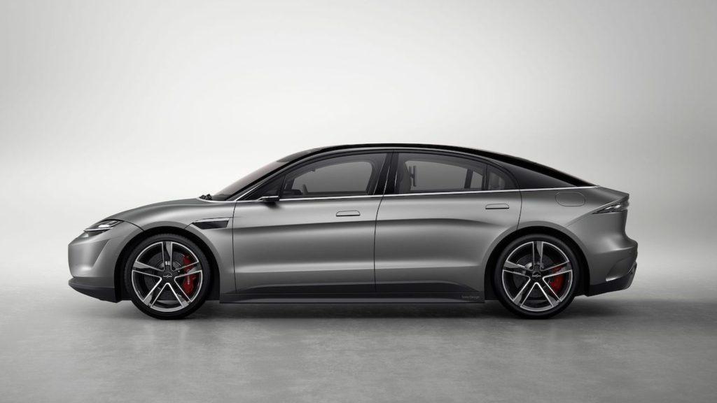 Έκανε την έκπληξη η Sony στην CES, φανερώνοντας το νέο ηλεκτρικό αυτοκίνητο που ονομάζεται Vision-S 1