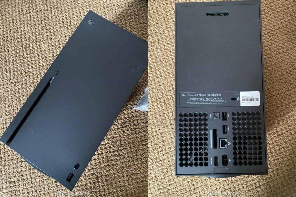 Κοντινές λήψεις από το νέο XBOX Series X 2