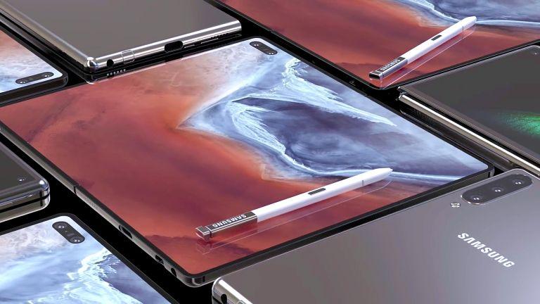 Εφοδιασμένο και με S-Pen το νέο Galaxy Fold 2ης γενιάς 1