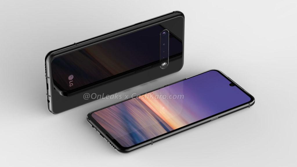 Μερικά νέα renders εμφανίζουν το LG G9 ThinQ με μια εγκατάσταση τετραπλής κάμερας και υποδοχή ακουστικών 2