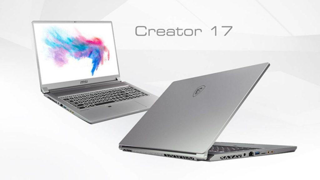 Έγινε πραγματικότητα το πρώτο laptop με Mini LED οθόνη και είναι το MSI Creator 17 [CES 2020] 1