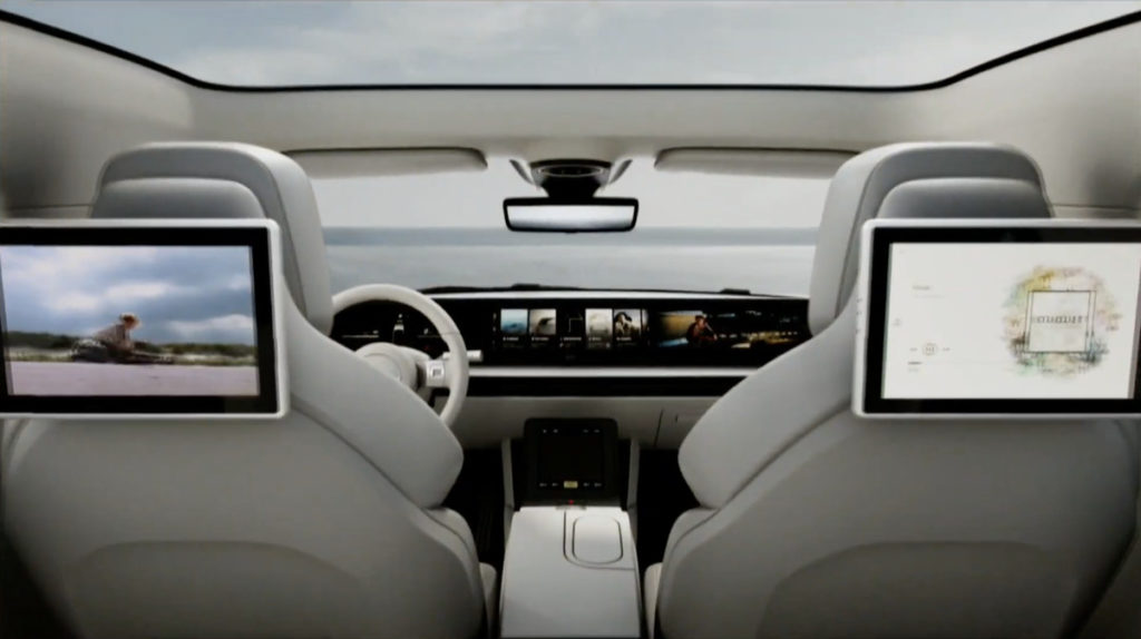 Έκανε την έκπληξη η Sony στην CES, φανερώνοντας το νέο ηλεκτρικό αυτοκίνητο που ονομάζεται Vision-S 3