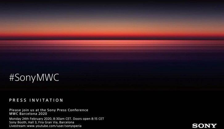 Όλα τα νέα Xperia smartphones της Sony, θα τα δούμε  επίσημα στις 24 Φεβρουαρίου στο MWC 2020 1