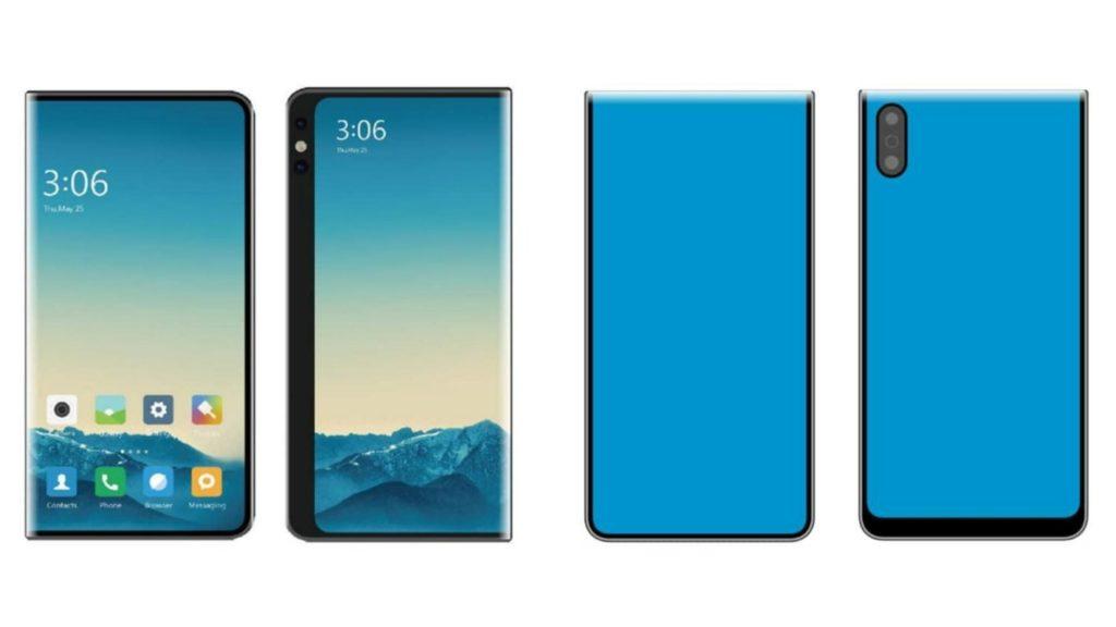 Δύο σχέδια για την δημιουργία πτυσσόμενων smartphones από την Xiaomi 1