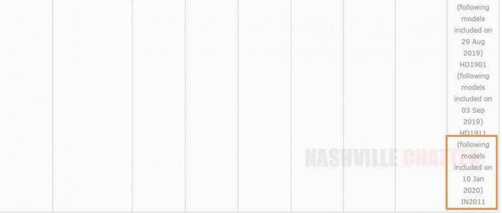 Την ίδια στιγμή που το OnePlus 8 Pro περνάει από Geekbench, το OnePlus 8 πιστοποιείται στην Ινδία 1