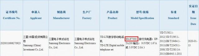 Το Samsung Galaxy Z Flip λαμβάνει πιστοποίηση 3C, έρχεται με φορτιστή 15W 1