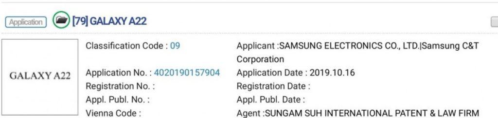 Ήδη έχουν καταχωρηθεί τα ονόματα από νέα smartphone smartphones της σειράς Samsung Galaxy A 3
