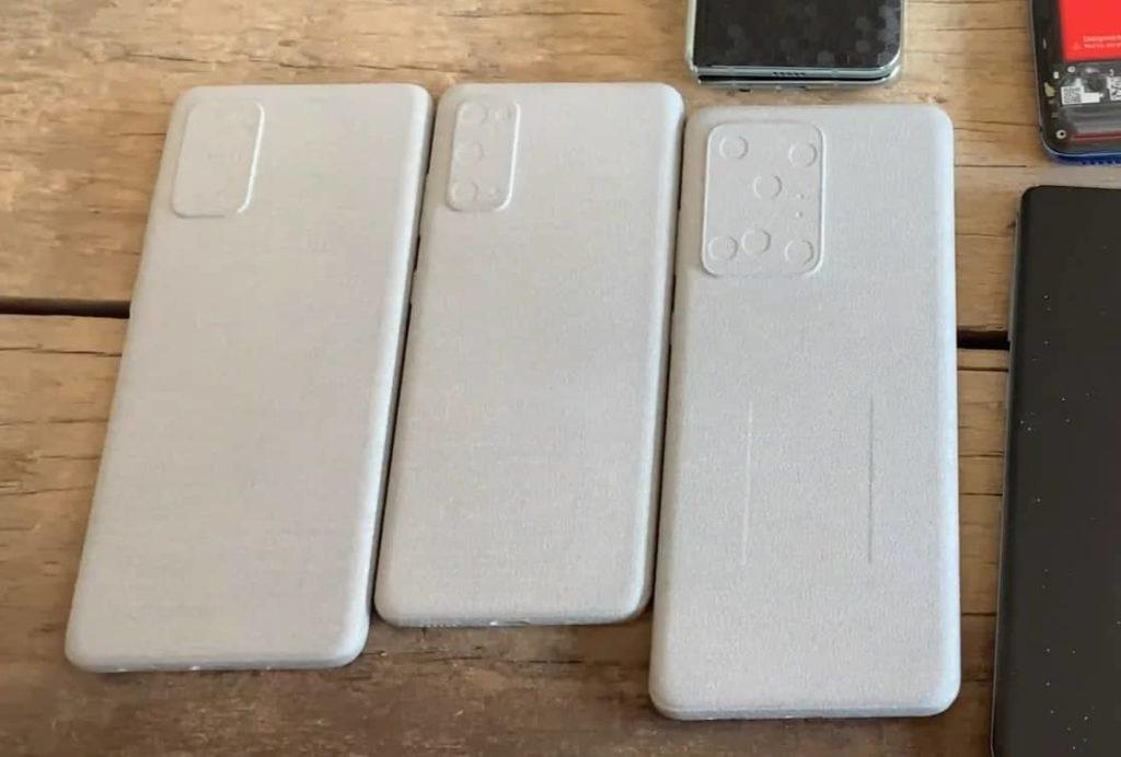 Για δες και μόνος σου τις διαφορές στο σχέδιο και στο μέγεθος των τριών Samsung Galaxy S20 2