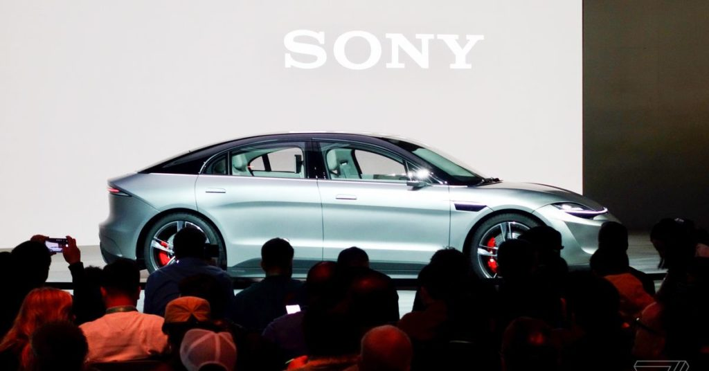 Έκανε την έκπληξη η Sony στην CES, φανερώνοντας το νέο ηλεκτρικό αυτοκίνητο που ονομάζεται Vision-S 4
