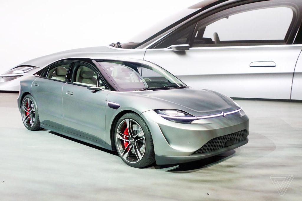 Έκανε την έκπληξη η Sony στην CES, φανερώνοντας το νέο ηλεκτρικό αυτοκίνητο που ονομάζεται Vision-S 5