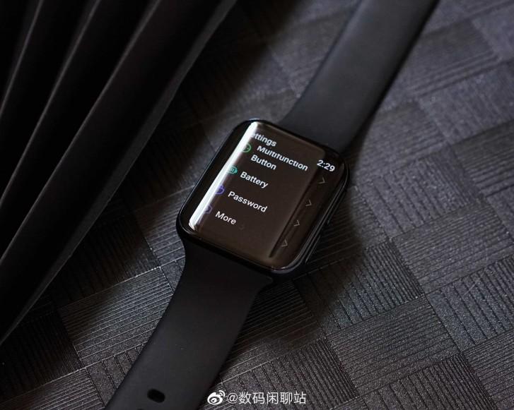 Live εικόνα του πραγματικού OPPO Smartwatch που τρέχει το Google WearOS 1