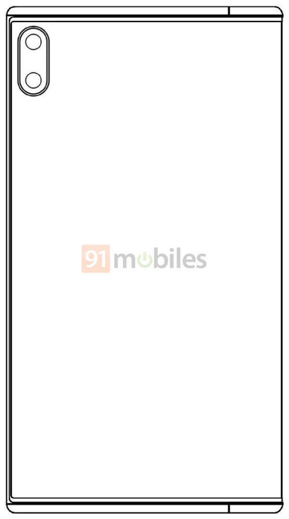 Σε σκίτσα εμφανίστηκε το Xiaomi Mi MIX Fold επηρεασμένο σχεδιαστικά από το Huawei Mate X 2