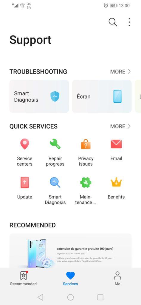 H εφαρμογή υποστήριξης της Huawei αποκτά νέα σχεδίαση και νέο όνομα 1