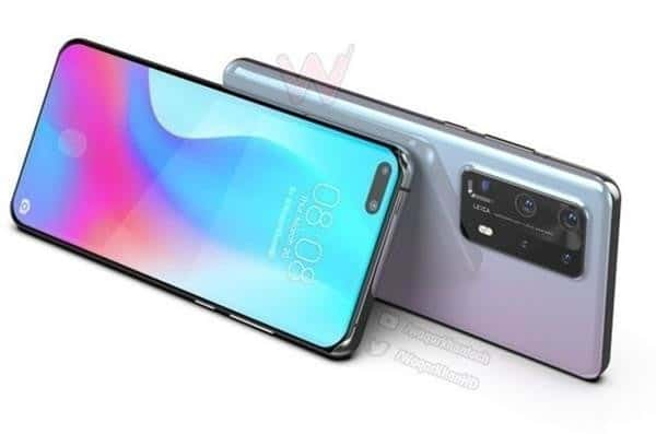 Πέντε κάμερες πίσω και 10x optical zoom για το Huawei P40 Pro 1
