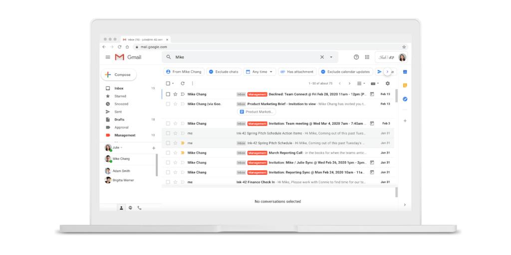 Gmail: Ήρθαν τα νέα chips αναζήτησης για καλύτερο φιλτράρισμα αποτελεσμάτων 1