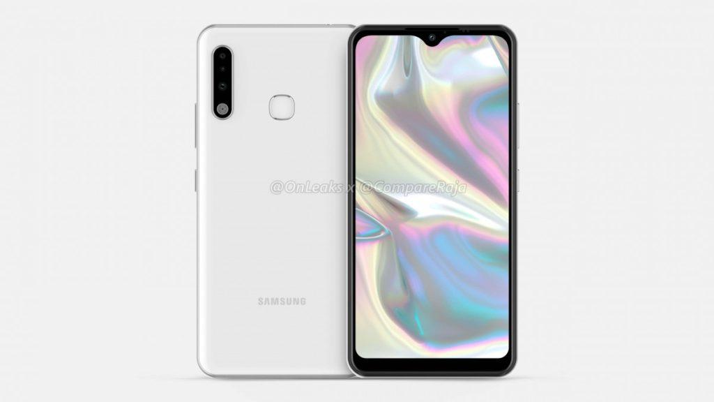 Προβάλλεται σε νέα renders το Samsung Galaxy A70e 3