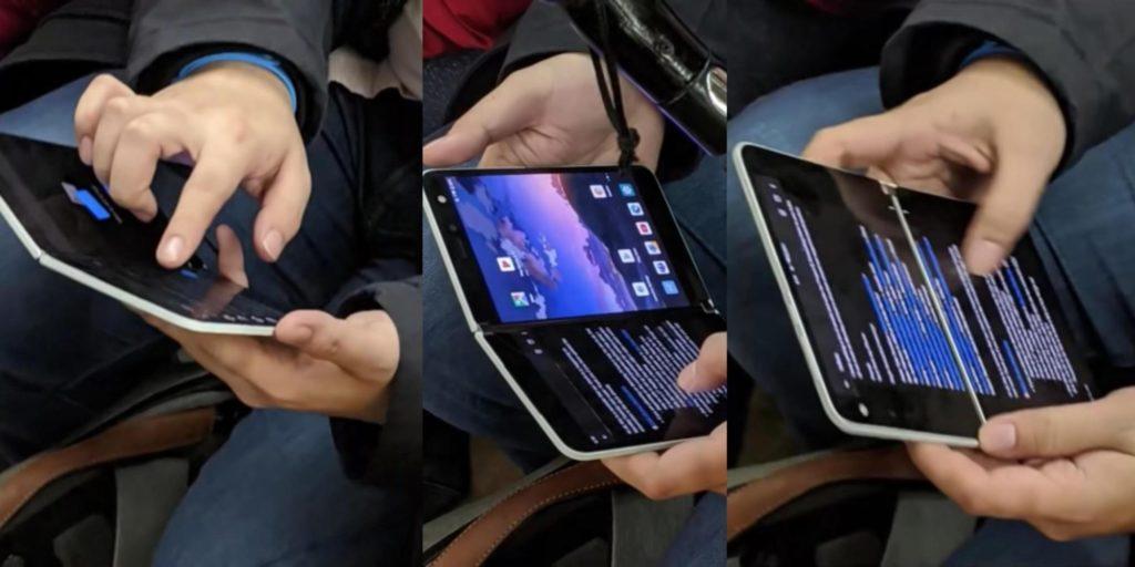 Μικρό βίντεο παρουσίασης από το Surface Duo 1