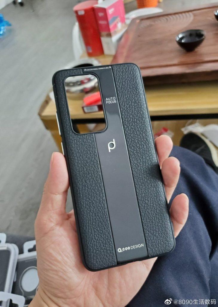 Η ανεπίσημη θήκη του νέου Huawei P40 Porsche Design στερείται της συμμετρίας των προηγούμενων τηλεφώνων PD 3
