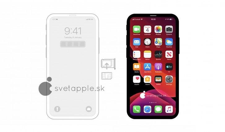 Πιθανόν αυτό να είναι η σχεδίαση του επόμενου iPhone 12 2