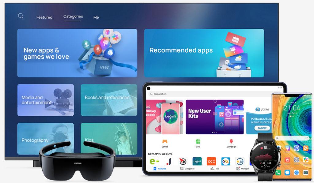 HUAWEI AppGallery: η Huawei παρουσιάζει την 3η μεγαλύτερη πλατφόρμα εφαρμογών στον κόσμο και πρώτη μεγάλη εναλλακτική επιλογή για τους καταναλωτές τα τελευταία δέκα χρόνια. 3